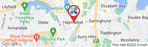 Haymarket google map