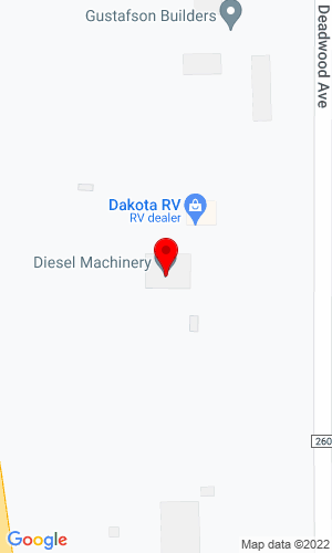 Google Map of Healy Machinery Company 3801 North Deadwood Avenue, Rapid City , SD, 57702