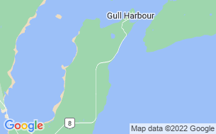 Map of Gull Harbour Campground