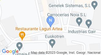 Conservas Nardin mapa