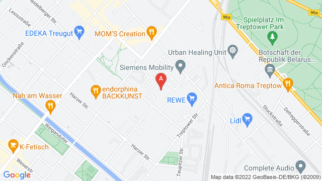 Google Map of Heidelberger Strasse 70, 12435 Berlin, Germany