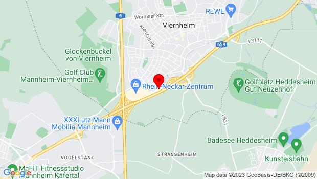 Kontakt / Anfahrt Viernheim, Dr. Katz & Partner, Kieferorthopädische Gemeinschaftspraxis Heidelbergerstr. 5 – 7, 68519 Viernheim
