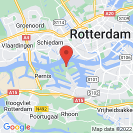 Google map of RDM-campus, Rotterdam