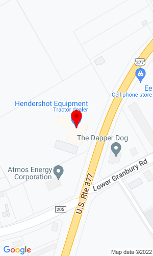 Google Map of Hendershot JCB 935 E South Loop, Stephenville, TX, 76401,