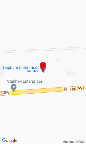 Google Map of Hepburn Enterprises Inc 7945 Wilkes Ave, Headingley, MB, R4H 1B8