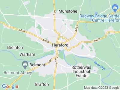 Hereford car crash