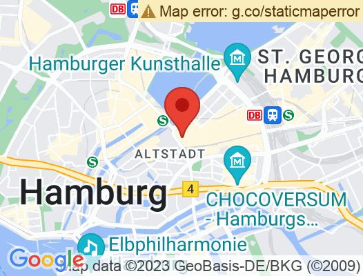 Google Map of Hermannstraße 15 20095 Hamburg