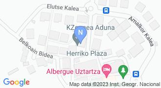Adunako Udaletxea mapa