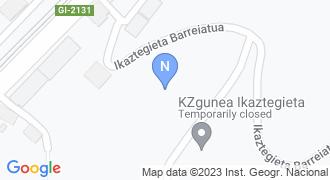 Ikaztegietako udaletxea mapa