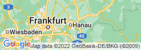Hanau Am Main map