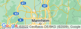 Lampertheim map
