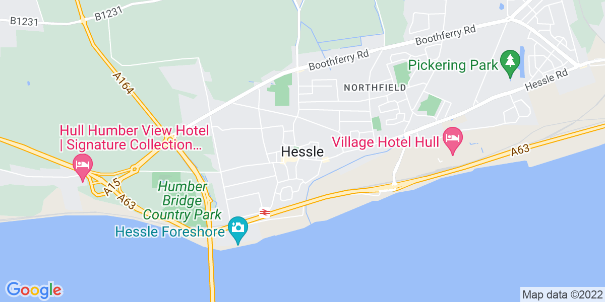 Map: Branch Manager - Lifting & Handling Equipment role in Hessle