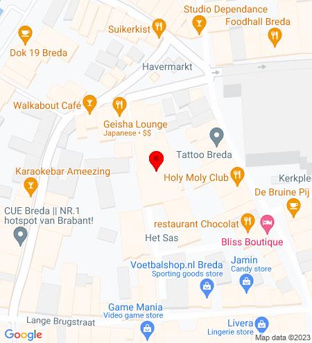 Google Map of Het Sas 8 4811 WC Breda
