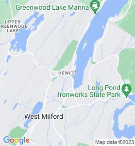 Hewitt NJ Map