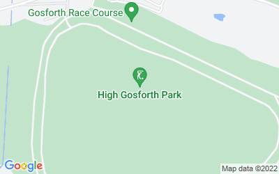 Map of Gosforth Grand Hotel Gosforth Park
