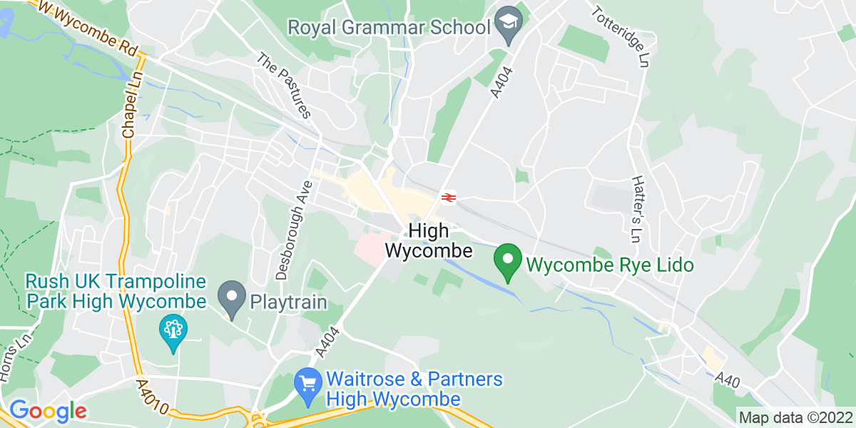 Map: British Sign Language Teaching Assistant job role in High Wycombe