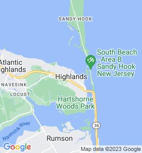 Highlands NJ Map