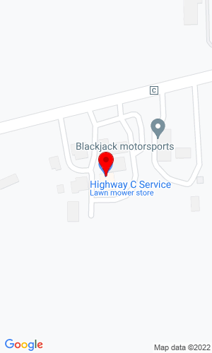Google Map of Highway C Service, Inc 13325 Wilmot Road, Kenosha, WI, 53142-7348