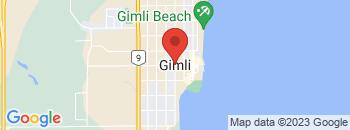 Google Map of Highway+%23231+%26+%238%2CGimli%2CManitoba+R0C+1B0