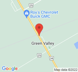 Google Map of Highway+%2334%2CGreen+Valley%2COntario+K0C+1L0
