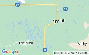 Map of Carlton Trail Regional Park
