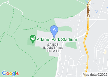 Map for Adams Park Conference Centre