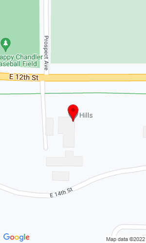 Google Map of Hills Inc 540 East 12th Street, Grafton, ND, 58237