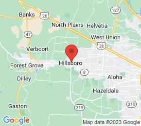 Job Map - Hillsboro, Oregon  US
