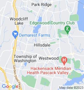 Hillsdale NJ Map