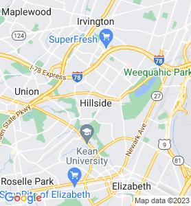 Hillside NJ Map