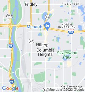 Hilltop MN Map