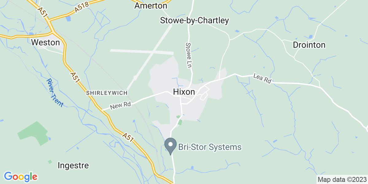 Map: MIG Welder Fabricator job role in Hixon