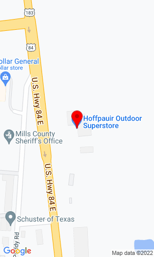 Google Map of Hoffpauir Outdoor Superstore 310 E Commerce, San Saba, TX, 76877,