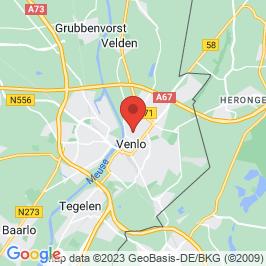 Google map of Koffieschenkerij Urbanushof, Venlo