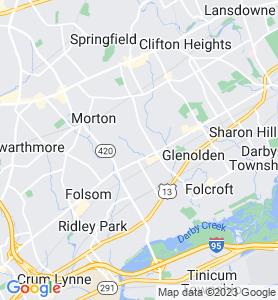 Holmes PA Map
