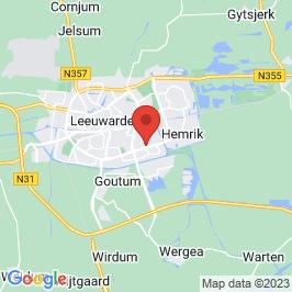 Google map of Opvanghuis Veilige Veste, Leeuwarden