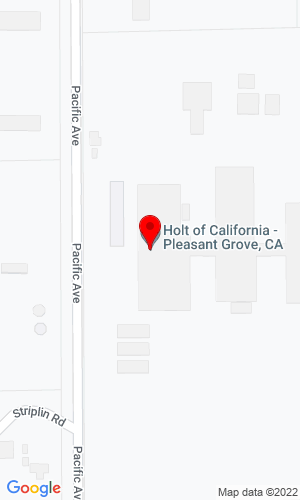 Google Map of Holt of California CAT 7310 Pacific Avenue, Pleasant Grove, CA, 95668
