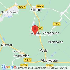 Google map of Burcht, Wedde