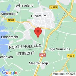 Google map of Bij de Tuinman, Hilversum