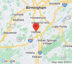 Job Map - Hoover, Alabama  US