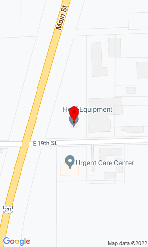 Google Map of Hopf Equipment, Inc. 506 East 19th Street , Huntingburg, IN, 47542