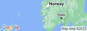 Hordaland map