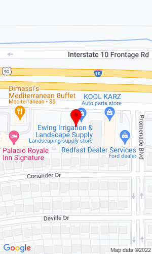 Google Map of Horizon High Reach, Inc. 515 Tacoma Drive, Houston, TX, 77040