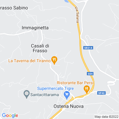 bed and breakfast Hotel a Frasso Sabino (RI)