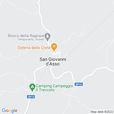 bed and breakfast Hotel a San Giovanni d'Asso (SI)
