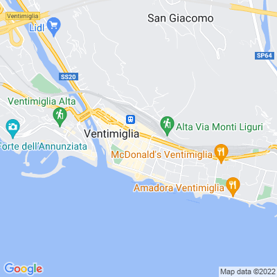 bed and breakfast Hotel a Ventimiglia (IM)