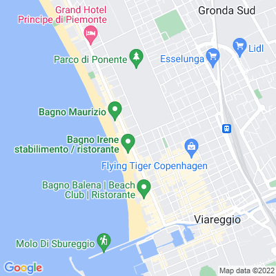 bed and breakfast Hotel a Viareggio (LU)