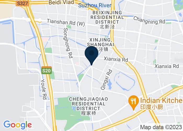 Map of House 12, No.1680  Hami Road,, Changning district, Shanghai 2003366, P.R. China