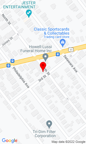 Google Map of Howard Baird Associates 225 North Street, West Pittston, PA, 18643