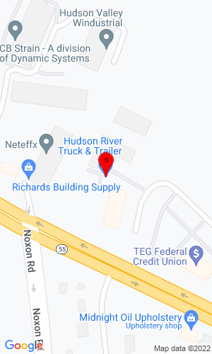 Google Map of Hudson River Truck Equipment  12 Commerce St, Poughkeepsie, NY, 12603-2669